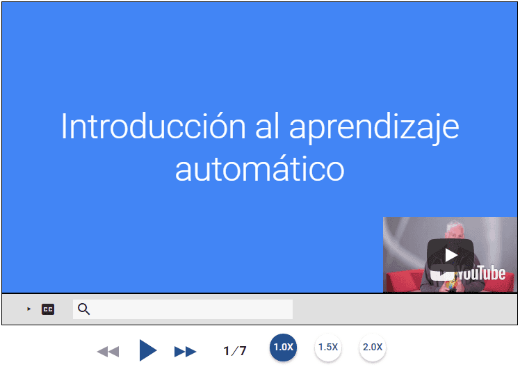 Curso de Aprendizaje Automático de Google