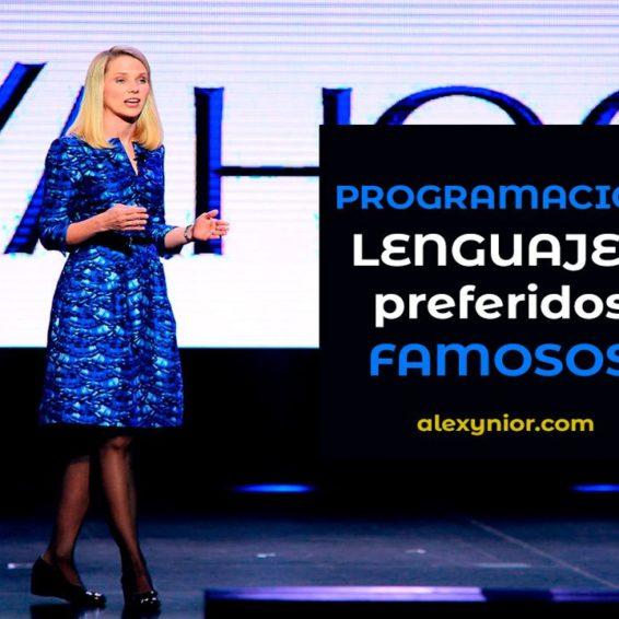 Lenguajes programación preferidos por desarrolladores famosos
