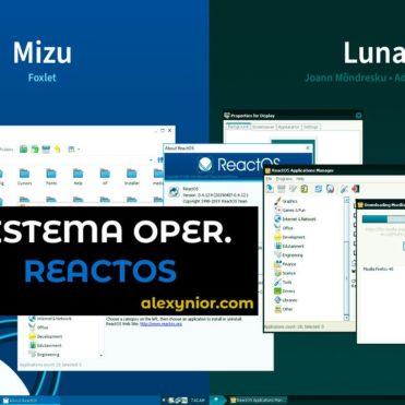 ReactOS Sistema operativo similar a Windows