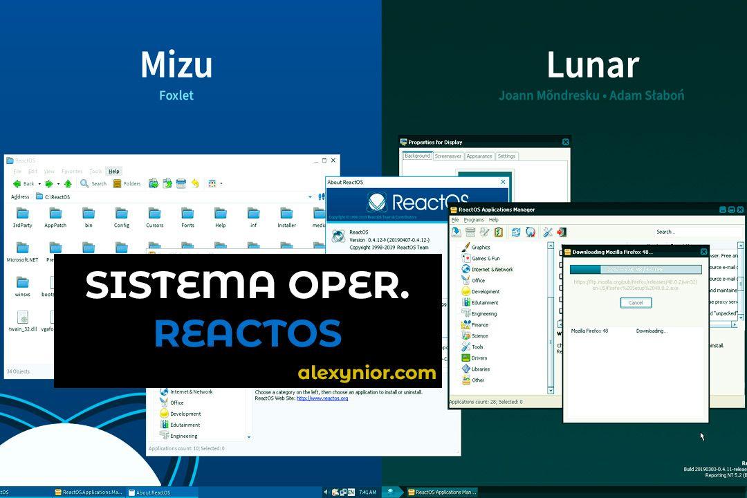 ReactOS: El sistema operativo con 250 MB similar a Windows