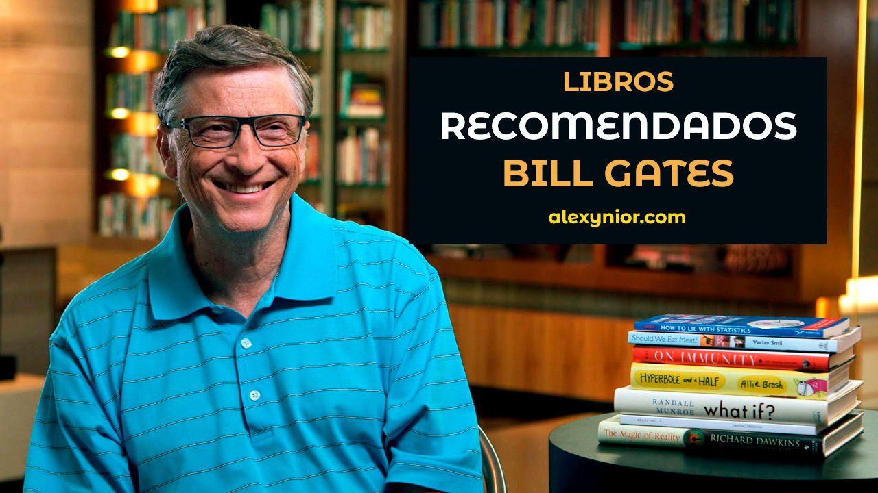5 libros que Bill Gates cree que deberías leer ahora mismo