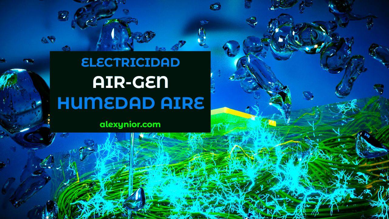 Air-gen: ¿La batería del teléfono se carga a través de la humedad del aire?